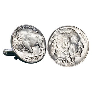 American Coin Treasures Buffalo Nickel Cuff Links