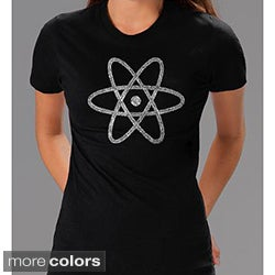 Los Angeles Pop Art Women's Atom T-shirt