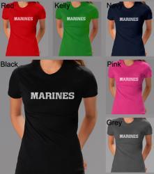 Los Angeles Pop Art Women's Marine T-shirt