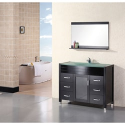 Design Element Cascade Espresso Single-sink Bathroom Vanity