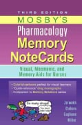 Mosby's Pharmacology Memory Notecards: Visual, Mnemonic, and Memory Aids for Nurses (Paperback)