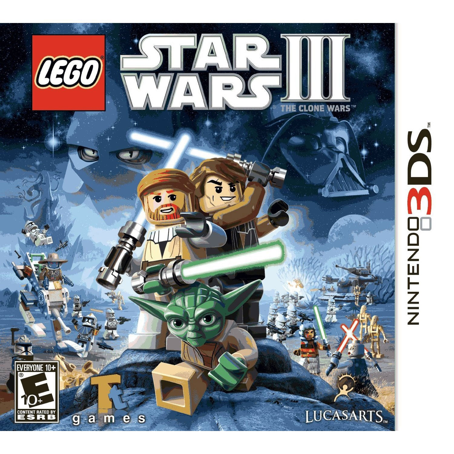 Nintendo 3DS - LEGO Star Wars III: The Clone Wars