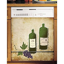 Appliance Art's Grapes Dishwasher Cover