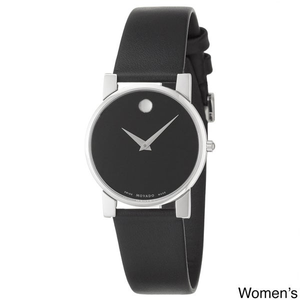Movado Museum Men's or Women's Black Dial Watch