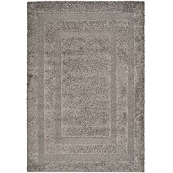 Hand-woven Ultimate Dark Grey Shag Rug (8' x 10')