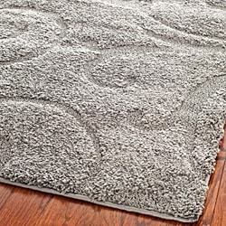 Safavieh Ultimate Dark Grey/ Beige Shag Rug (5'3 x 7'6)