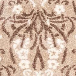 Safavieh Ultimate Beige/Cream Shag Area Rug (8' x 10')