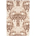 Ultimate Beige/Cream Shag Area Rug (8' x 10')