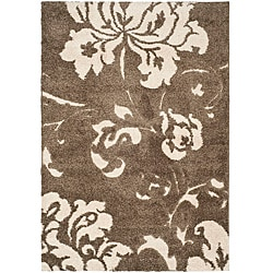 Safavieh Ultimate Smoke/Beige Casual Shag Rug (8' x 10')