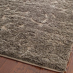 Ultimate Smoke/Beige Shag Area Rug (8' x 10')