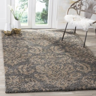 Safavieh Ultimate Dark Grey Shag Rug (5'3 x 7'6)
