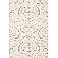 Safavieh Ultimate Cream/ Beige Shag Rug (4' x 6')