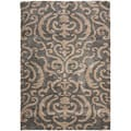 Ultimate Dark Gray Shag Area Rug (4' x 6')