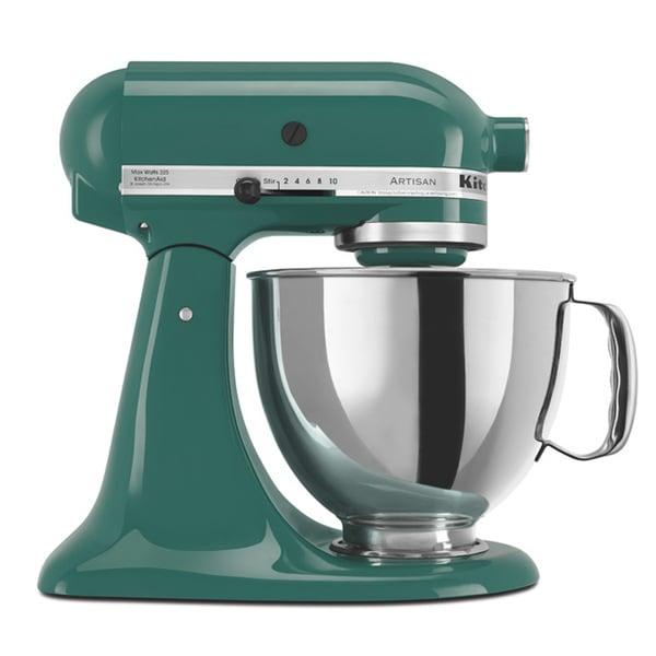 KitchenAid RRK150BL Bayleaf 5-quart Artisan Stand Mixer (Refurbished)