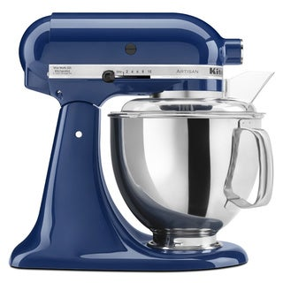 KitchenAid RRK150BW Blue Willow 5-quart Artisan Stand Mixer (Refurbished)