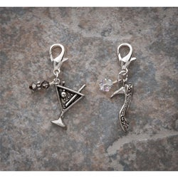 Fashion Forward Pewter Girls Night Out Charms