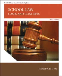 School Law: Cases and Concepts (Hardcover)