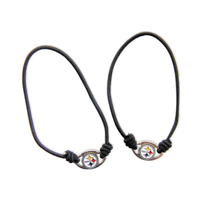 Pittsburgh Steelers Hair Ties/ Stretched Bracelets