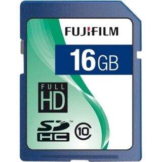 Fujifilm 600008926 16 GB Secure Digital High Capacity (SDHC)
