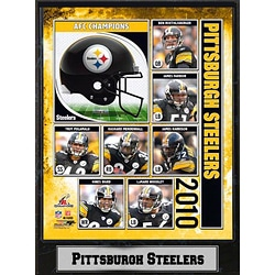 Encore Select 2010 AFC Champions Pittsburgh Steelers Plaque