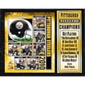 2010 AFC Champions Pittsburgh Steelers Plaque (12x15)