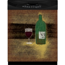 Appliance Art's Vino Dishwasher Cover