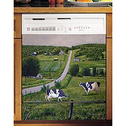 Appliance Art's Country Cow Dishwasher Cover