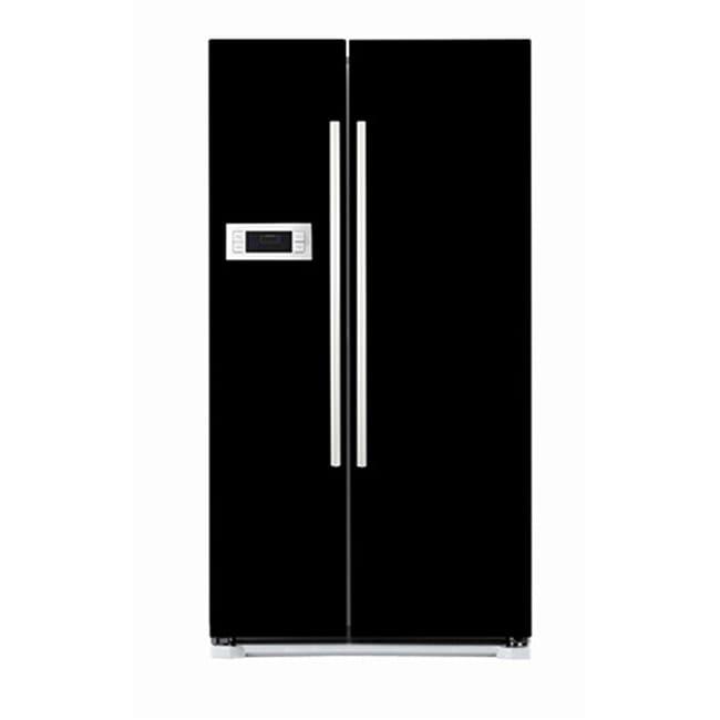 Appliance Art's Black Refrigerator Cover