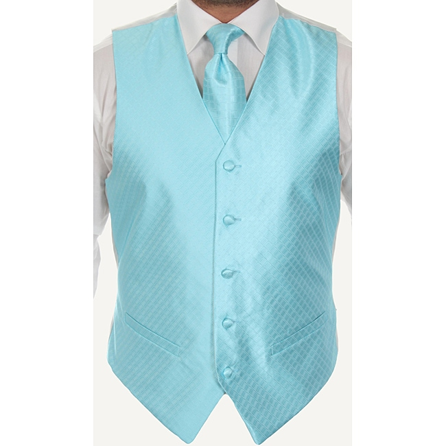 Ferrecci Men's Four-piece Vest Set