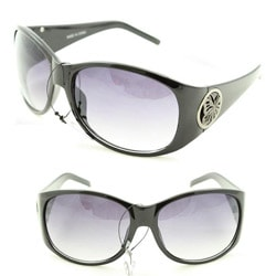 Women's 11182 Black Shield Sunglasses