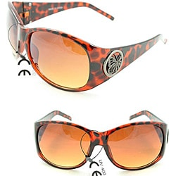 Women's 11182 Leopard Shield Sunglasses
