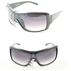 P2027 Purple/ Black Shield Sunglasses
