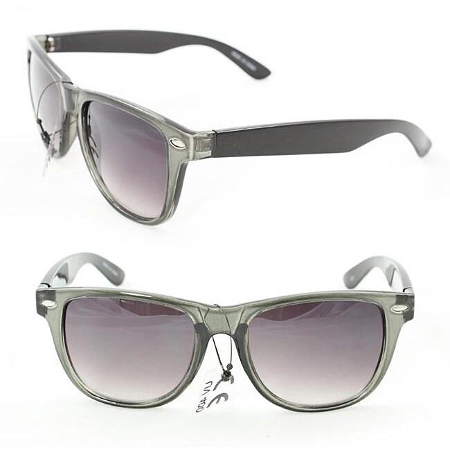 Unisex 972 Grey/ Black Sunglasses