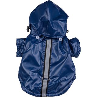 Pet Life Small Hooded Dog Windbreaker