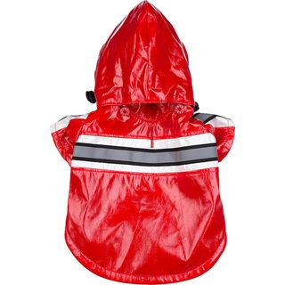 Pet Life Small Red Raincoat