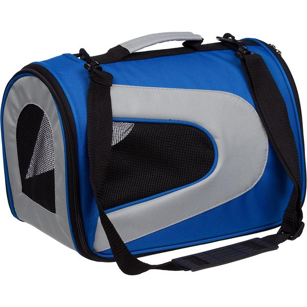 Pet Life Large Blue Mesh Carrier