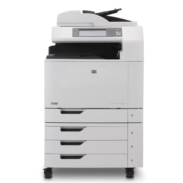 HP LaserJet CM6000 CM6040F Laser Multifunction Printer - Color - Plai
