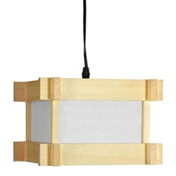 Wooden Domo Japanese Hanging Lantern (China)