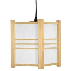 Wooden Genki Japanese Hanging Lantern (China)