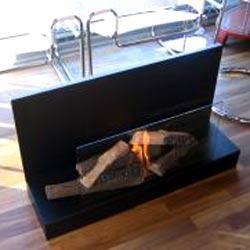Vertigo Bio Ethanol Fireplace