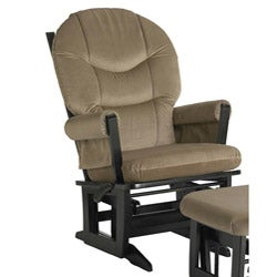 Dutailier Ultramotion Dark Espresso Wood Glider