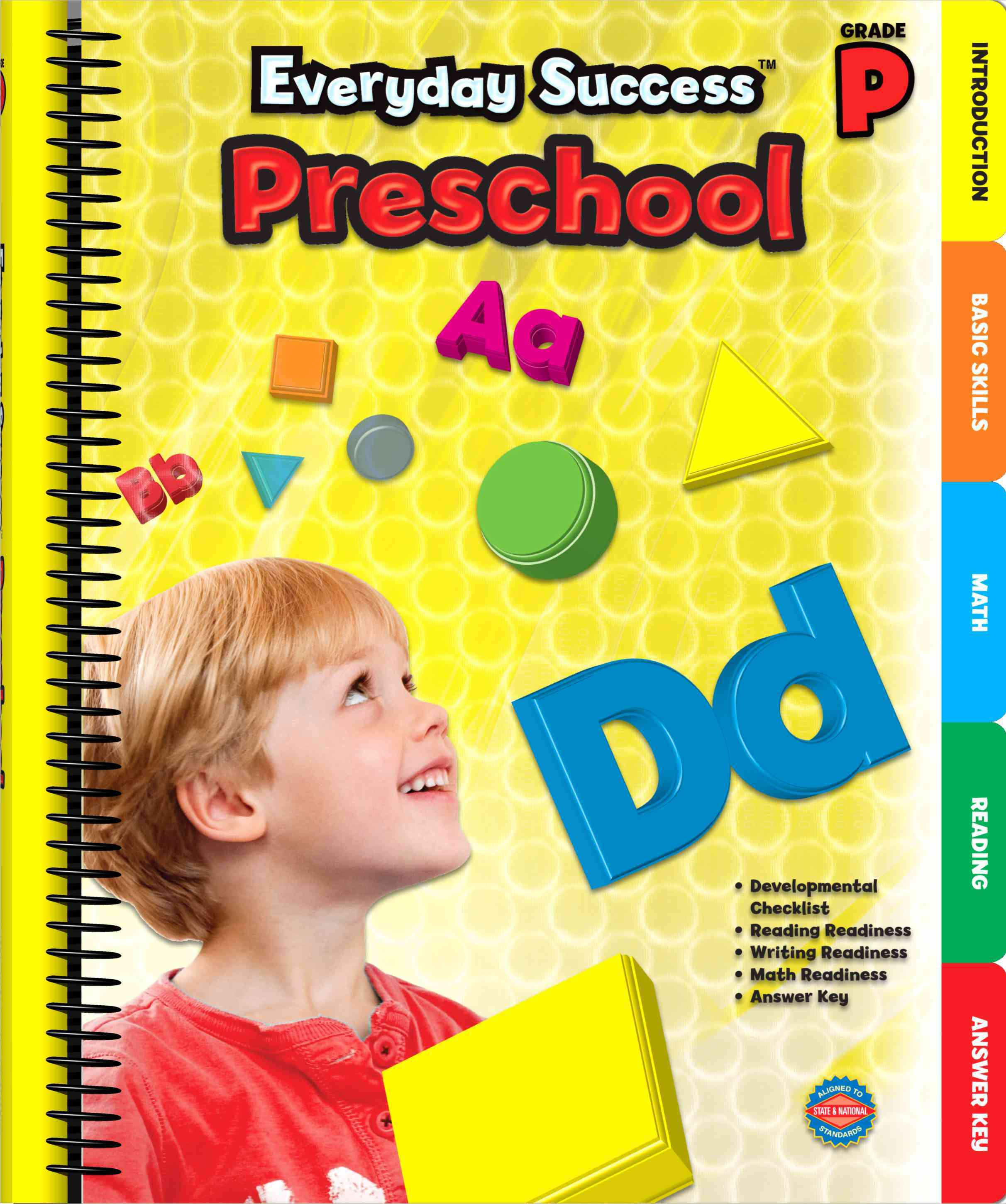 Everyday Success Preschool: Grade P (Paperback)
