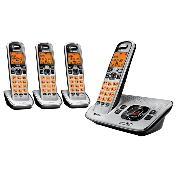 Uniden D1680-4 DECT Cordless Phone