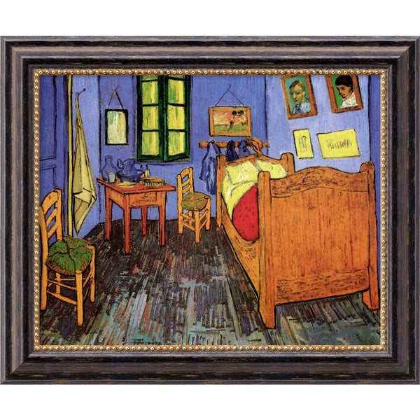 Vincent Van Gogh 'Bedroom at Arles' Framed Canvas Art