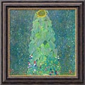 Gustav Klimt 'The Sunflower, c. 1906-1907' Framed Canvas Art