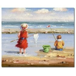 At the Beach II' Gallery-wrapped Canvas Art