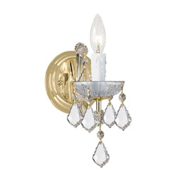Maria Theresa 1-light Gold Wall Sconce