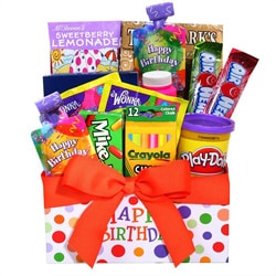 Children's Happy Birthday Gift Box