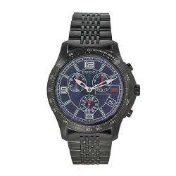 Gucci Men's Timeless Stainless Steel Blue Dial Chronograph Watch