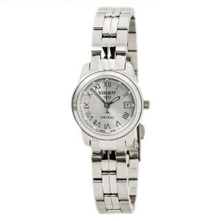 Tissot Women's Silvertone 'PR100 Stainless' Watch